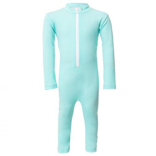 Petit-Crabe---UV-Schwimmanzug-Langärmlig---Stern---Mint