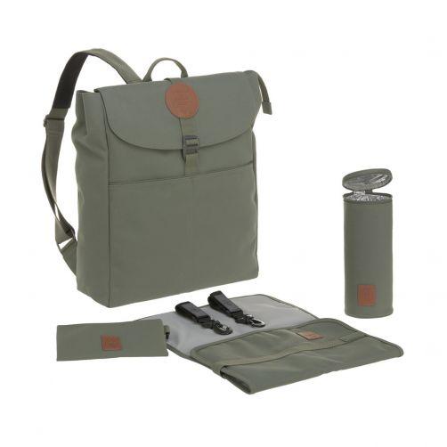 Lässig---Wickelrucksack---Adventure-Backpack---Olivgrün