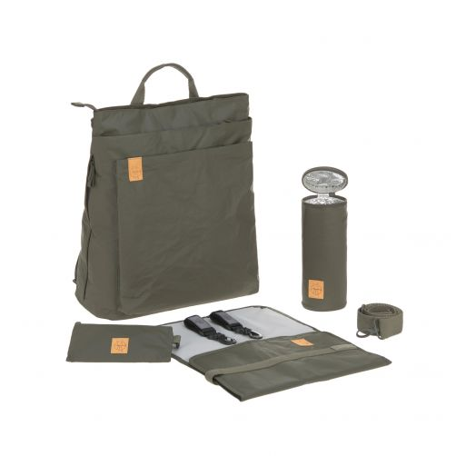 Lässig---Wickelrucksack---Green-Label-Tyve-Backpack---Olivgrün