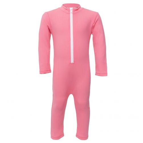 Petit-Crabe---UV-Schwimmanzug-Langärmlig---Wassereis---Pink