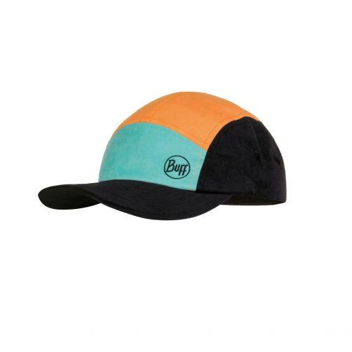 Buff---UV-Sonnenkappe-für-Kinder---5-Panel-Cap---Colourblock---Multi