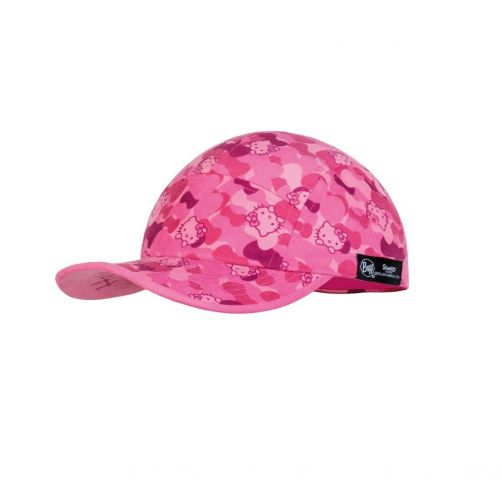 Buff---UV-Sonnenkappe-für-Mädchen---5-Panel-Cap---Hello-Kitty---Pink