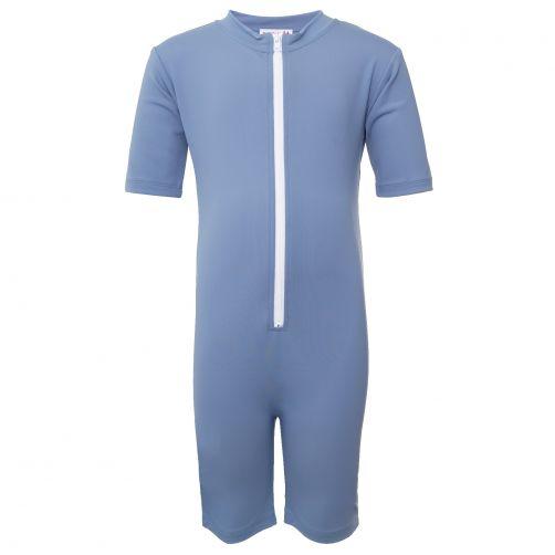 Petit-Crabe---UV-Schwimmanzug-Kurzärmlig---Stern---Blau