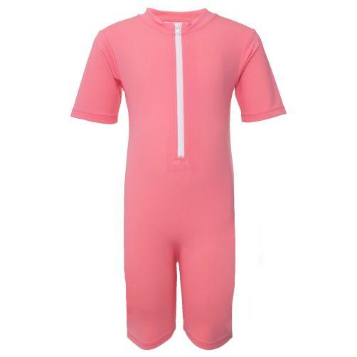 Petit-Crabe---UV-Schwimmanzug-Kurzärmlig---Wassereis---Pink