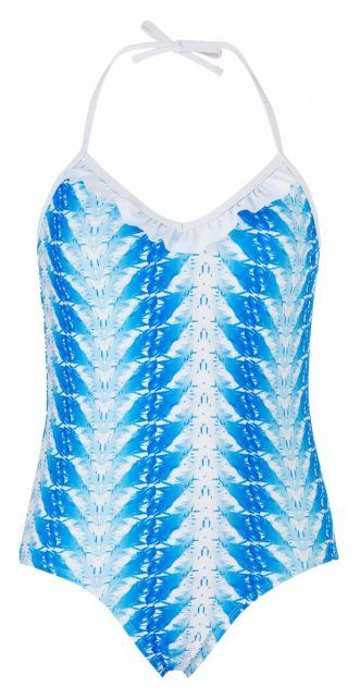 Snapper-Rock---UV-Badeanzug-Federn-Blau