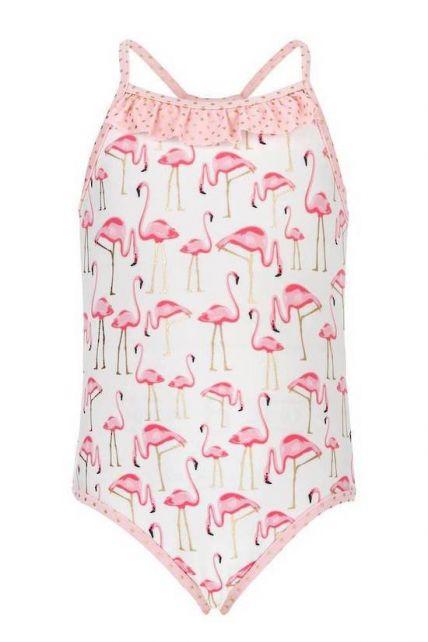Snapper-Rock---Badeanzug---Flamingo