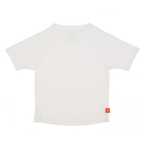 Lässig---UV-schützendes-Badeshirt-für-Kinder---Weiß