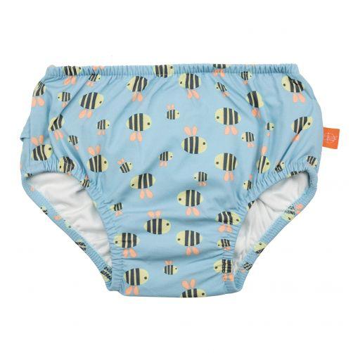 Lässig---Schwimmwindel-für-Babys---Bumble-Bee---Hellblau