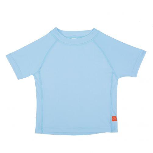 Lässig---UV-schützendes-Badeshirt-für-Kinder---Hellblau