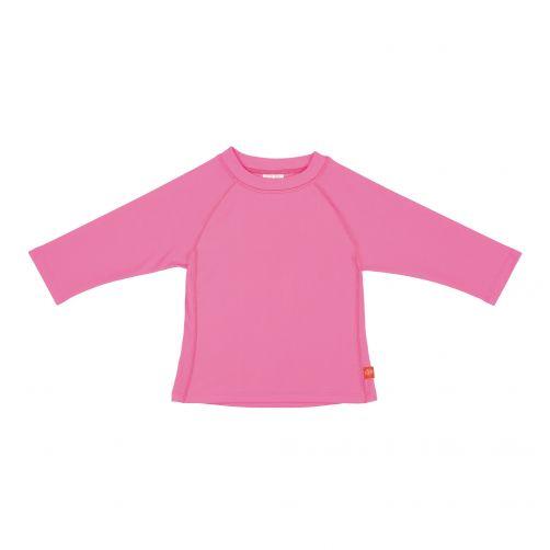 Lässig---UV-schützendes-Badeshirt-für-Kinder---langärmlig---Rosa