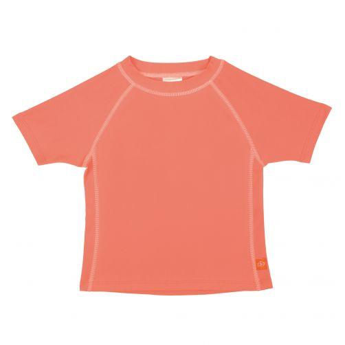 Lässig---UV-schützendes-Badeshirt-für-Kinder---Apricot
