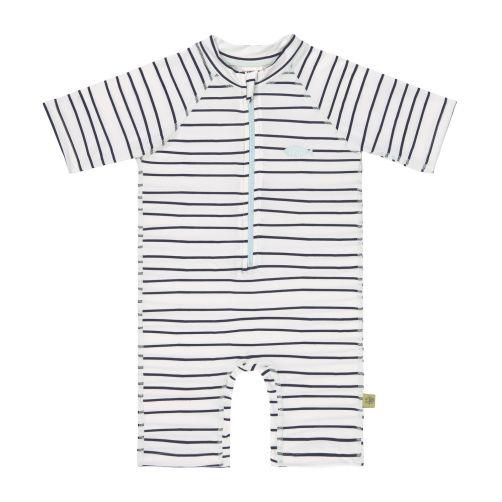 Lässig---UV-Schwimmanzug-für-Kleinkinder---Kurzarm---Streifen