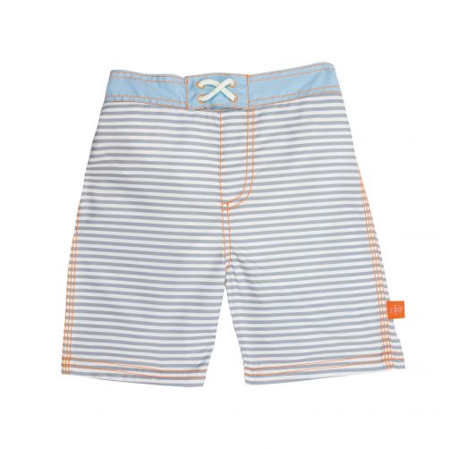 Lässig---Schwimmshorts-für-Jungen---Small-Stripes---Gestreift