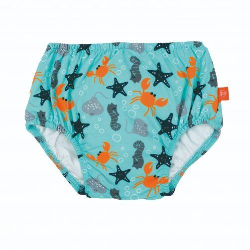Lässig---Schwimmwindel-für-Babys---Star-Fish---Hellblau