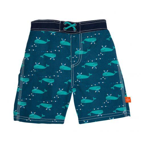 Lässig---Schwimmshorts-für-Jungen---Blau-Whale---Blau
