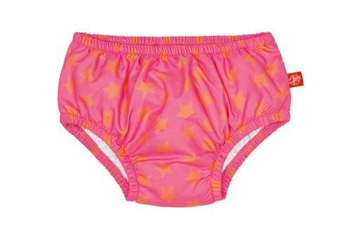 Lässig---Schwimmwindel-für-Babys---Star---Rosa/Orange