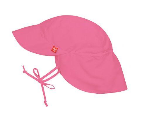 Lässig---Sonnenkappe-mit-Nackenschutz-für-Kinder---Rosa