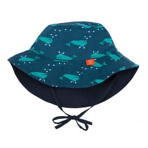 Lässig---Bucket-Hut-für-Kinder---Blau-Whale---Blau