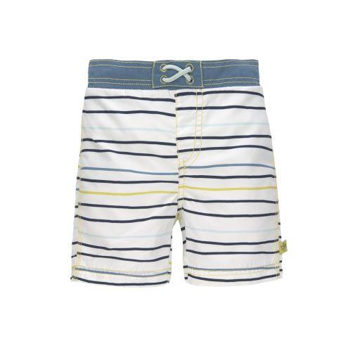 Lässig---UV-Badehose-für-Jungen-mit-Windel---Streifen---Mehrfarbig