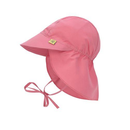 Lässig---UV-Kappe-für-Mädchen-mit-Nackenschutz---Sugar-Coral