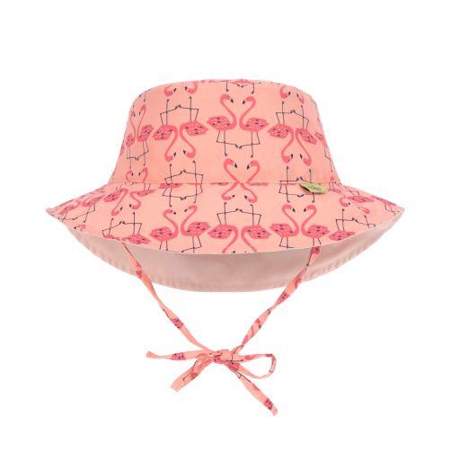 Lässig---UV-Wendehut-für-Mädchen---Flamingo---Pink-/-Rosa