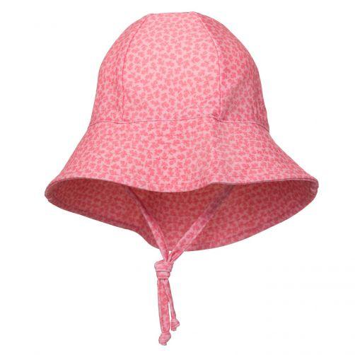 Petit-Crabe---UV-Sonnenhut-Für-Kinder---Geblümt---Rosa