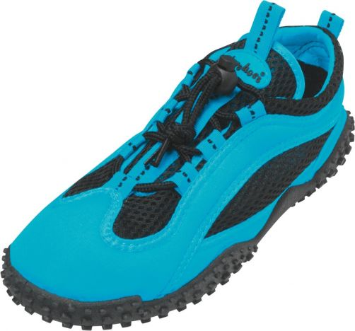 Playshoes---UV-Badeschuhe---Blau-Neon