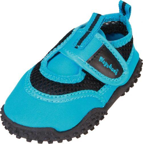 Playshoes---UV-Badeschuhe-für-Kinder---Blau-neon-farbe