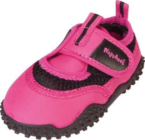 Playshoes---UV-Badeschuhe-für-Kinder---Rosa-neon-farbe