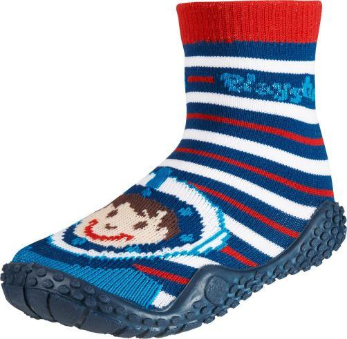 Playshoes---Schwimmsocken-für-Kinder---Taucher-Druck---Rot/Blau/Weiß