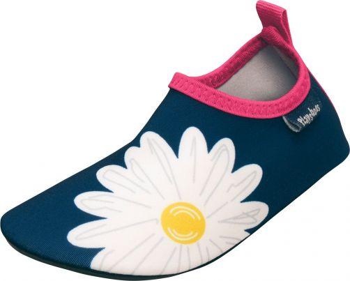 Playshoes---UV-Badeschuhe-für-Kinder---Margarite---Marineblau/Pink
