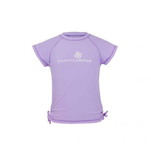 Snapper-Rock---UV-T-Shirt-für-Mädchen-lavendel
