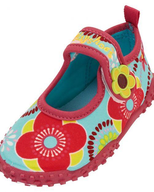 Playshoes---UV-Badeschuhe-für-Kinder---Blumen