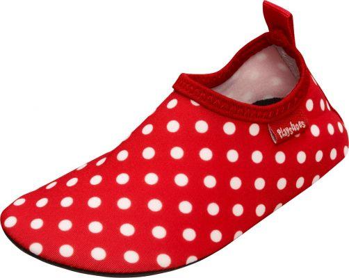 Playshoes---UV-Badeschuhe-für-Kinder---Punkte---Rot