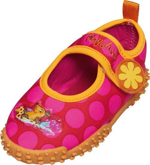 Playshoes---UV-Badeschuhe-für-Kinder---Rosa-Maus