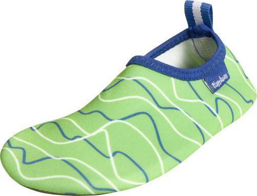 Playshoes---UV-Barfußschuhe-für-Kinder---Wellen---blau-/-grün