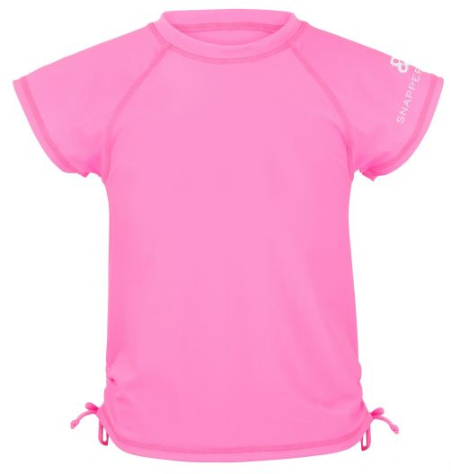 Snapper-Rock---UV-T-Shirt-für-Mädchen-neon-pink
