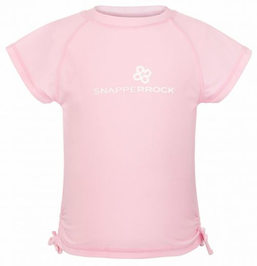 Snapper-Rock---UV-T-Shirt-für-Mädchen-rosa