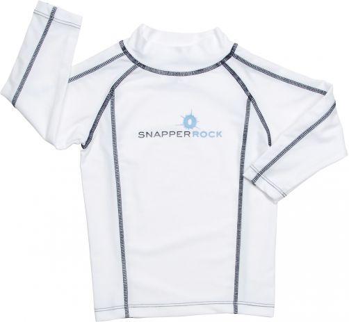 Snapper-Rock---UPF50+-Langarm-Shirt---weiß/blau
