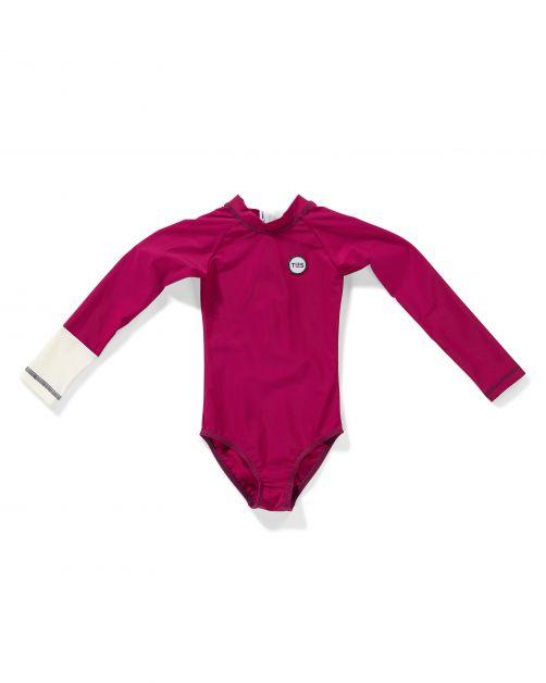 Tenue-de-Soleil---UV-Badeanzug-für-Mädchen---Malie---Violet-Purple