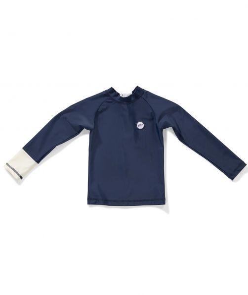 Tenue-de-Soleil---UV-Badeshirt-für-Kinder---Samu---Royal-Ocean-Blue