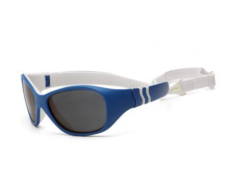 Real-Kids-Shades---UV-Sonnenbrille-für-Kinder---Marineblau-/-Weiß