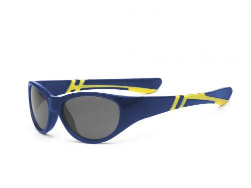 Real-Kids-Shades---UV-Sonnenbrille-für-Kinder---Marineblau/Gelb