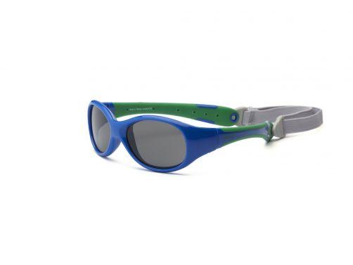 Real-Kids-Shades---UV-Sonnenbrille-für-Kinder---Königsblau/Grün
