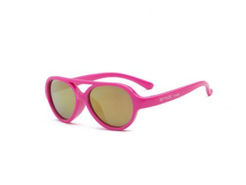 Real-Kids-Shades---UV-Sonnenbrille-für-Kinder---Sky---Neon-Pink
