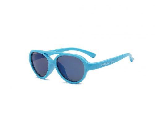 Real-Kids-Shades---UV-Sonnenbrille-für-Kinder---Sky---Neon-Blau