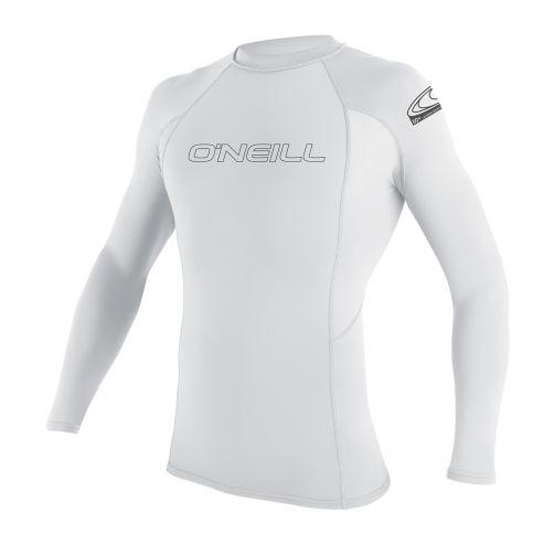 O'Neill---UV-Shirt-für-Herren---Langarm---Weiß