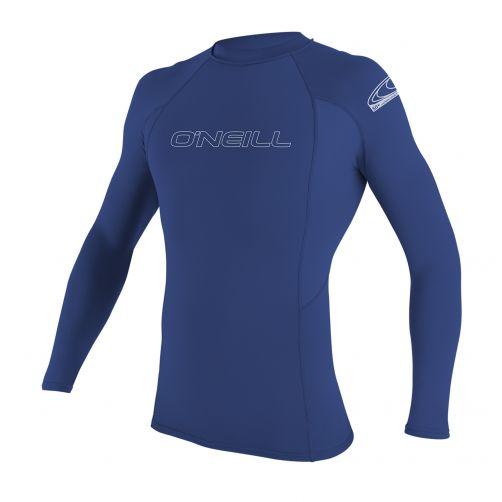 O'Neill---UV-Shirt-für-Herren---Langarm---pacific-blue