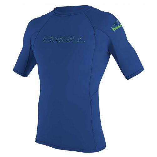 O'Neill---UV-Shirt-für-Kinder---kurzärmlig---Basic-Rash---Pazifikblau