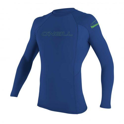 O'Neill---UV-Shirt-für-Kinder---langärmlig---Basic-Rash--Pazifikblau